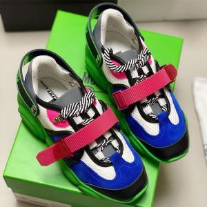 Moschino Roller Skates Teddy Sole Sneakers Green