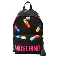 Moschino Casual Pills Large Backpack Black