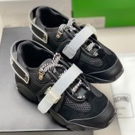 Moschino Roller Skates Teddy Sole Sneakers Black