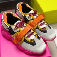 Moschino Roller Skates Teddy Sole Sneakers Rose